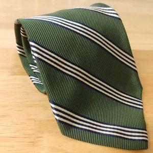 Façonnable | Striped silk/cotton tie